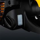 het controlevenster benzine van de mcculloch cs 380