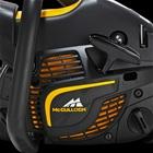 de oxypower motortechnologie zorgt voor 70% minder uitstoot bij de mcculloch cs 380 en 20% minder verbruik.